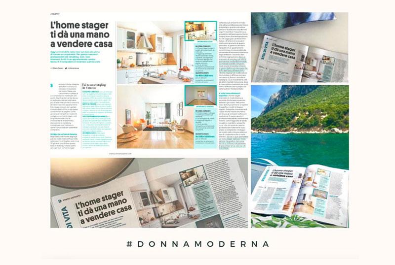 DONNA MODERNA - Articolo Home Staging